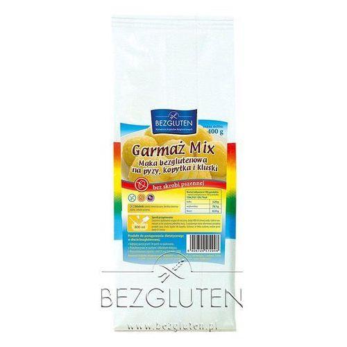 Garmaż mix - mąka owa na pyzy, kopytka 400g bezglutenowy bezgluten marki Bezgluten