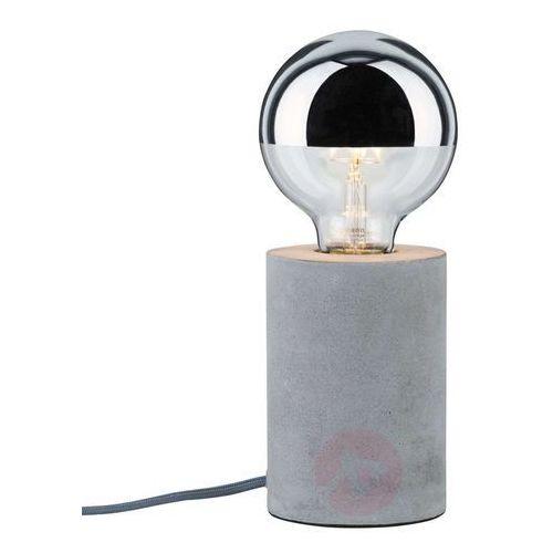 Paulmann mik lampa stołowa z betonu (4000870796214)
