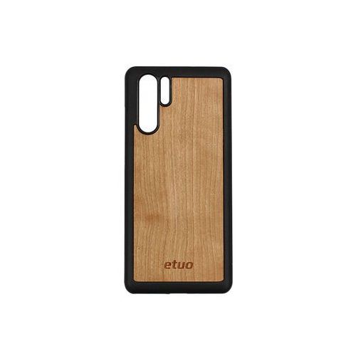 Huawei P30 Pro - etui na telefon Wood Case - czereśnia, ETHW848EWODCZE000