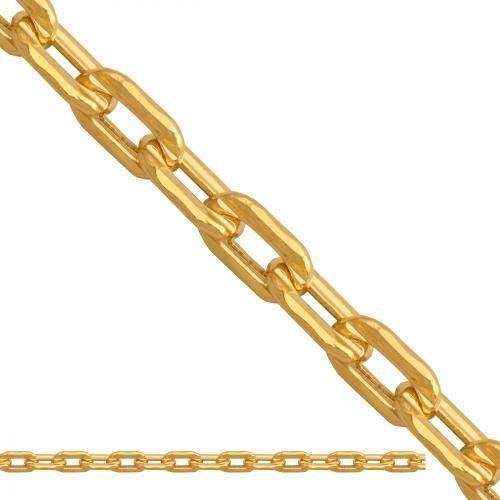 złoty łańcuszek dmuchany Brilantata Ld1012