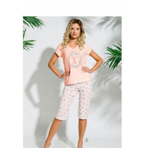 Piżama damska model donata 2169 k1 morela marki Taro