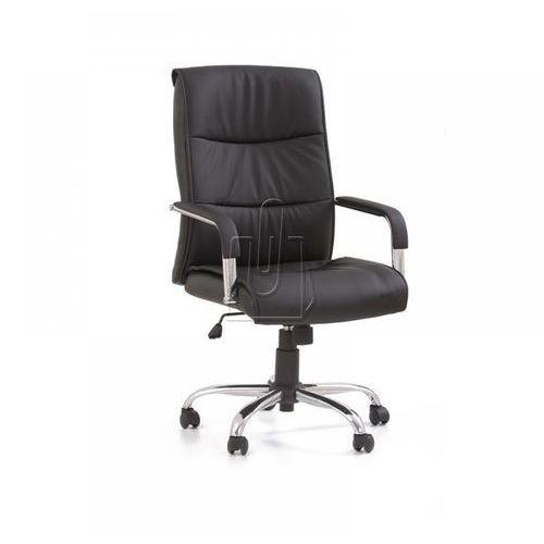 Fotel gabinetowy Hamilton czarny - gwarancja bezpiecznych zakupów - WYSYŁKA 24H