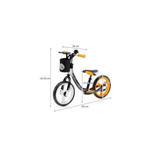 Kinderkraft Rowerek biegowy space orange 5y36l7