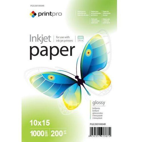 Arsej papier fotograficzny błyszczący 10x15 200g 1000szt marki Printpro