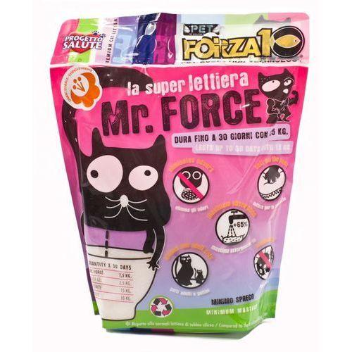 Żwirek silikonowy MrForce zapachowy: waga - 1,5 kg DOSTAWA 24h GRATIS od 99zł
