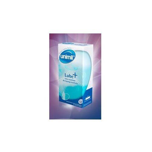 Unimil (pol) Prezerwatywy unimil lube+ 12szt.