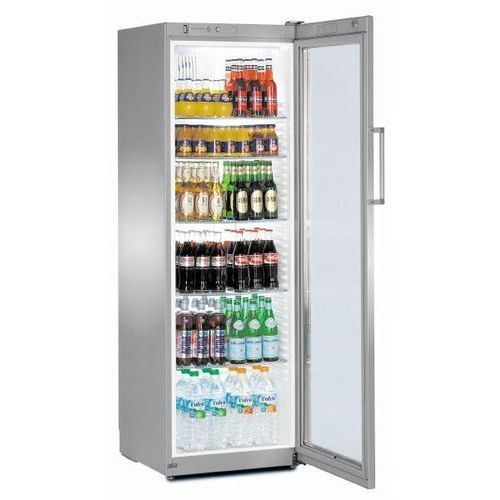 Chłodziarka do prezentacji produktów | +1°C +15°C | 359L | 600x610x(H)1800mm