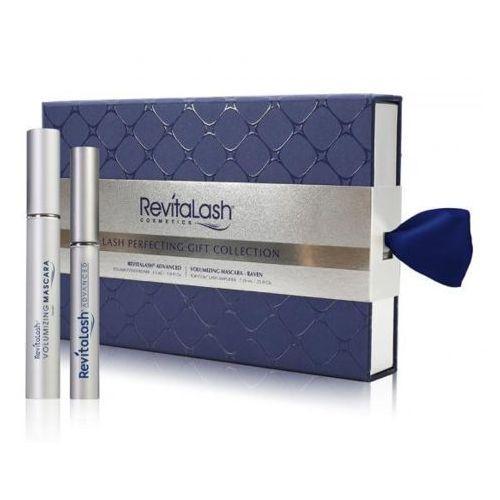 RevitaLash, Advanced Eyelash Conditioner, zestaw upominkowy, Odżywka do rzęs, 3,5 ml + Volumizing Mascara Raven - czarny tusz do rzęs 7,39 ml