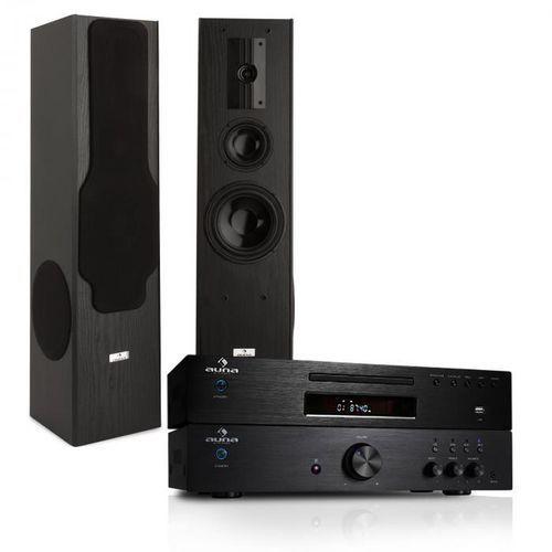 Electronic-Star System Hifi - wzmacniacz 600W, odtwarzacz CD MP3 radio (4260322372674)