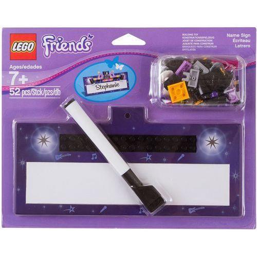 Lego FRIENDS Cardboard name plate 853443