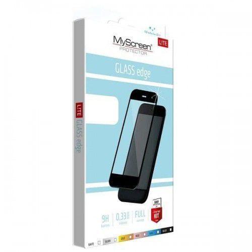 Myscreen Szkło hartowane lite glass edge sony xa1 ultra biały (5901924942733)