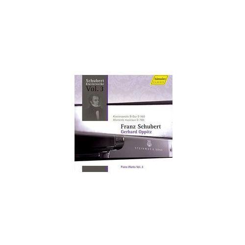 Piano works vol. 3: piano sonata in b - flat major d 960 / moments musicaux d 780 marki Haenssler