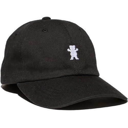 Grizzly Czapka z daszkiem - og dad bear logo hat black/white (bkwh) rozmiar: os