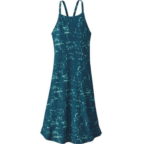 Patagonia SLIDING ROCK DRESS Sukienka sportowa tidal teal, kolor niebieski