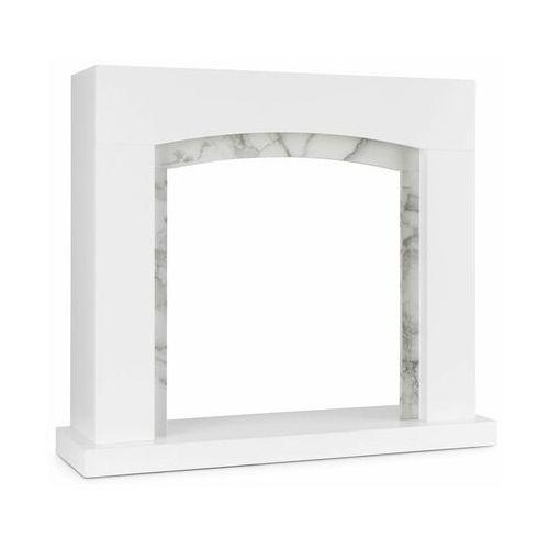 Klarstein Studio Frame II, korpus kominka, MDF, dekoracja marmurowa (4060656444555)