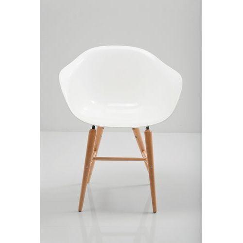 KARE Design:: Krzesło Forum z podłokietnikami białe - biały ||Kare design:: Krzesło Forum z podłokietnikami białe, kolor biały