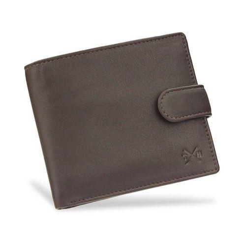 4631595b1cd48 Portfele i portmonetki · Tumble and hide bezpieczny portfel męski skórzany  brązowy zapinany rfid 2032 ...