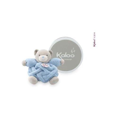 Kaloo Miś Plume - Pozytywka jasnoniebieski, 18 cm
