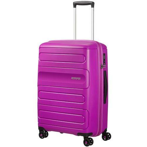 American Tourister Sunside średnia poszerzana walizka 67,5 cm / fioletowa - Ultraviolet
