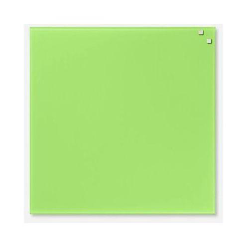 Naga Szklana tablica magnetyczna jasnozielona 45x45 (5708573107502)
