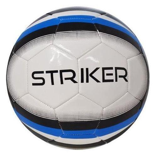 Piłka nożna treningowa axer striker navy/white - niebieski ||czarny ||biały marki Axer sport