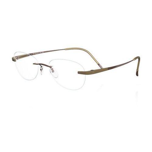 Okulary korekcyjne  hinge c-1 7723 6053 marki Silhouette