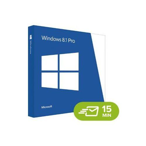 Windows 8.1 professional, licencja elektroniczna 32/64 bit marki Microsoft
