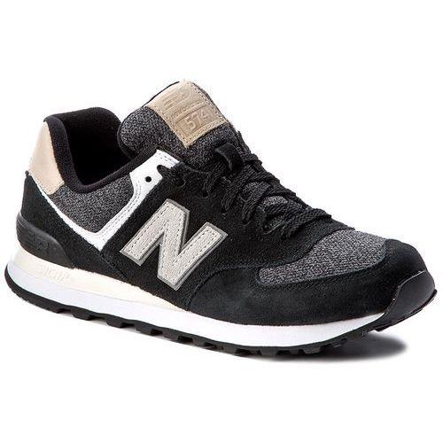 Sneakersy NEW BALANCE - ML574VAI Czarny, w 3 rozmiarach