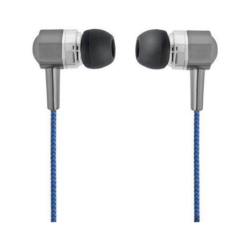 Forever Słuchawki douszne se-120 niebiesko-czarne z mikforonem