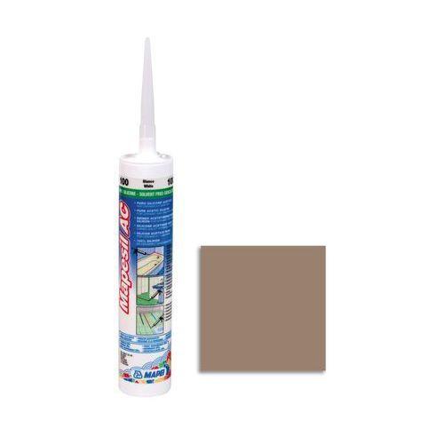 Silikon sanitarny MAPESIL AC 142 Brązowy MAPEI (8022452010255)