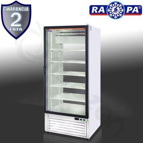 Szafa chłodnicza dwustronnie przeszklona RAPA SCh-2S 825
