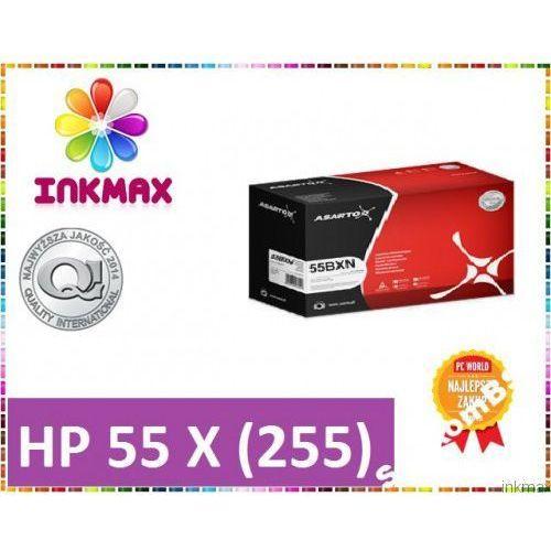 TONER HP CE255X HP P3015 3015 55X NOWY PEWNA MARKA, kup u jednego z partnerów