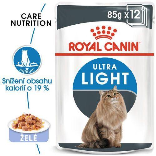60 x 85 g mokra karma dla kota w super cenie! - ultra light w galarecie| darmowa dostawa od 89 zł i super promocje od zooplus! marki Royal canin