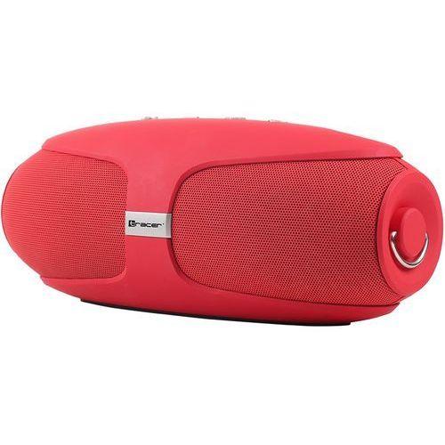 Tracer Głośnik mobilny warp bluetooth czerwony + zyskaj nawet 500 zł rabatu! + darmowy transport!