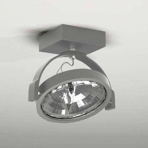 Plafon LAMPA sufitowa SAKURA 2233/G53/SZ Shilo regulowana OPRAWA reflektorowa szary, kolor Szary
