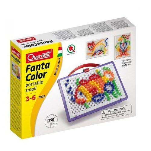 Quercetti, Fanta Color Portable Small, zabawka kreatywna Mozaika (8007905009222)