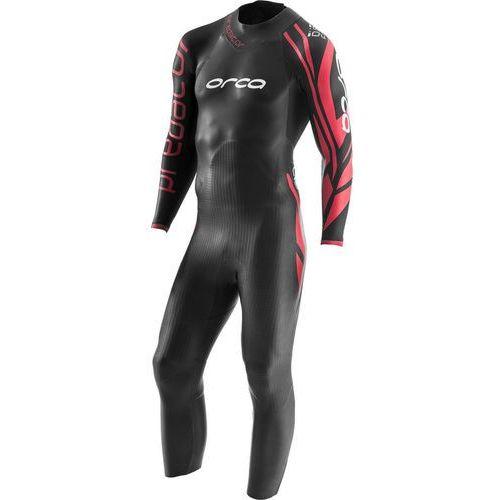 predator mężczyźni czerwony/czarny 9 2018 pianki do pływania marki Orca