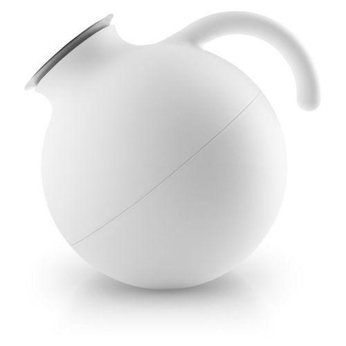 Eva Solo - Globe termos 1,0l Matt White - biały, 502704