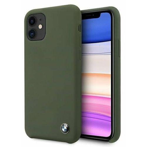Etui BMW BMHCN61SILMG iPhone 11 zielony/midnight green hardcase Silicone Signature (3700740469255)