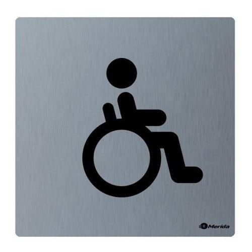 Piktogram toaleta dla niepełnosprawnych Merida