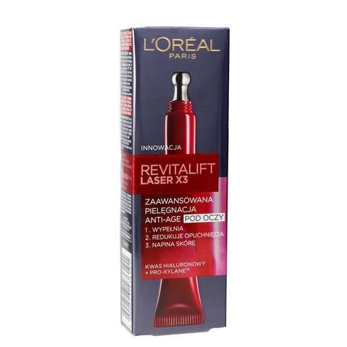 L'oreal revitalift laser x3 advanced anti-age eye krem pod oczy 15 ml (3600523436101)