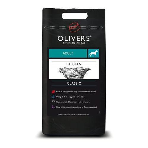(bez zařazení) Olivers dog adult chicken medium - 12kg