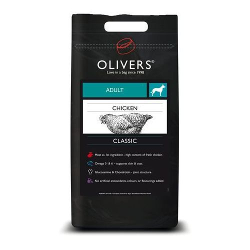 OLIVERS dog ADULT chicken MEDIUM - 12kg