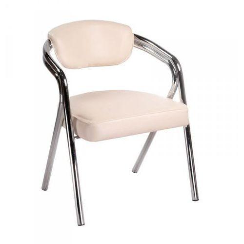 Krzesło Do Poczekalni BR-4511 Kremowe ()