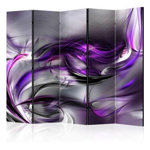 Parawan 5-częściowy - purpurowe zawirowania ii [parawan] marki Artgeist