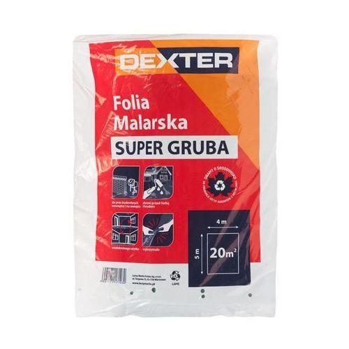 Folia malarska SUPER GRUBA 4 x 5 m DEXTER (5901171171030)