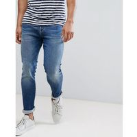 Selected Homme Stretch Slim Fit Jeans Made In Italy - Blue, kolor niebieski