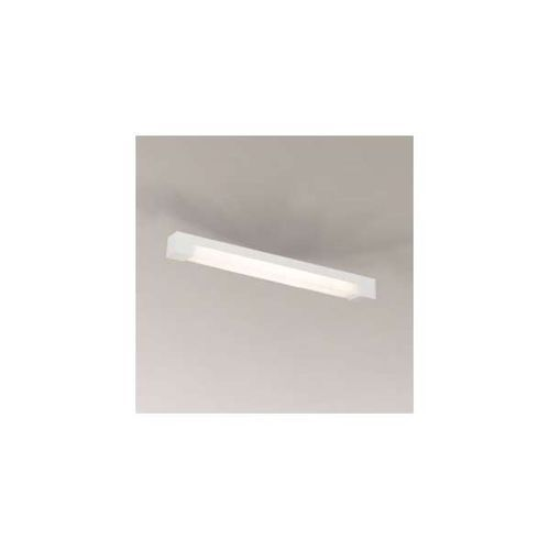 Plafon LAMPA sufitowa SUMOTO 1191/G5/BI Shilo prostokątna OPRAWA natynkowa listwa biała
