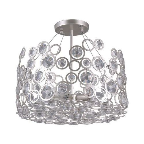 Italux nardo pnpl-33064-5-ch.s lampa wisząca zwis oprawa 5x40w e14 srebrny szampański (5902854531189)