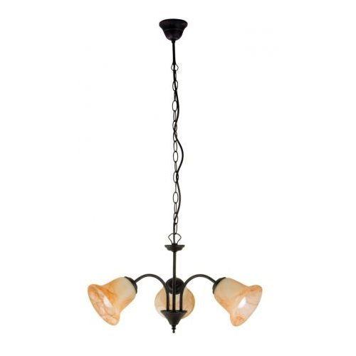 Lampa wisząca Rabalux Colette 3x40W E14 antyczny brąz 7367